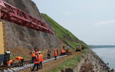 В переустройство железной дороги на Сахалине в этом году вложено 5,7 млрд руб.