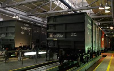 Производство грузовых магистральных вагонов в РФ увеличилось на 19%